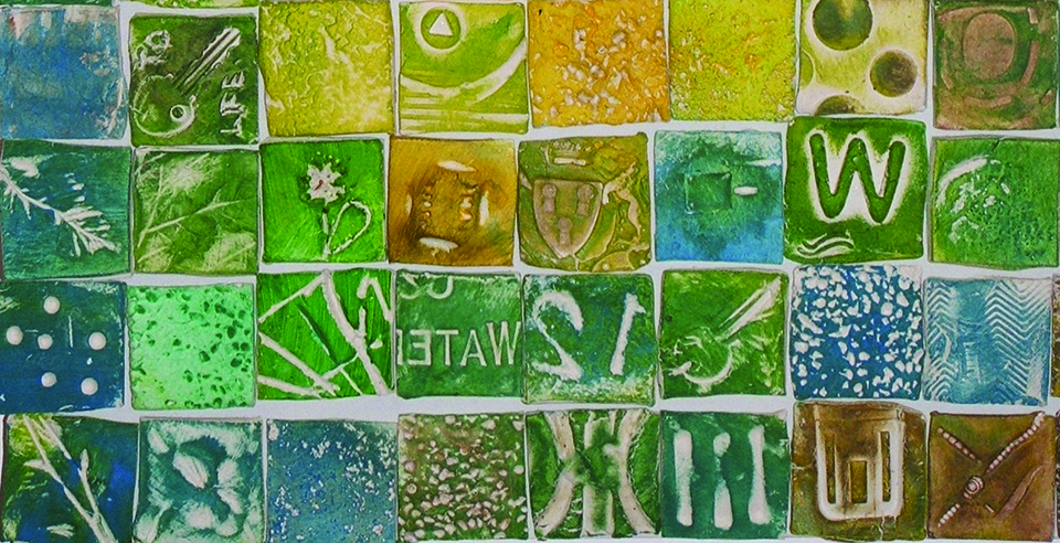 Green Tile Welcome