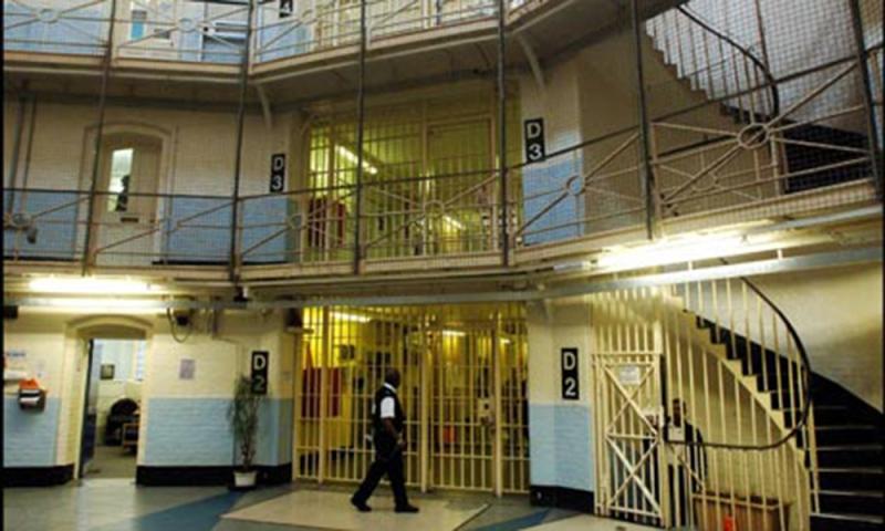 Wandsworth Prison D2 Landing